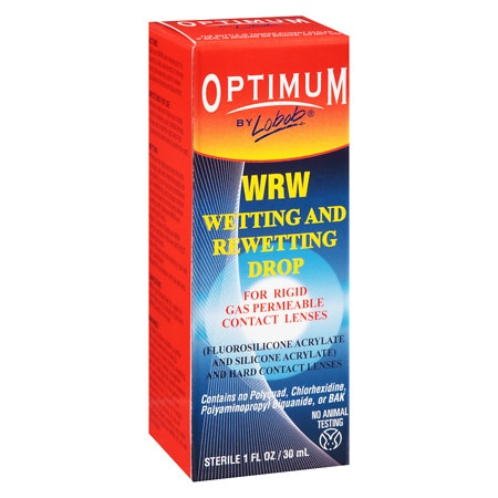 Lobob Optimum Wetting and Rewetting Drops - 1 oz.
