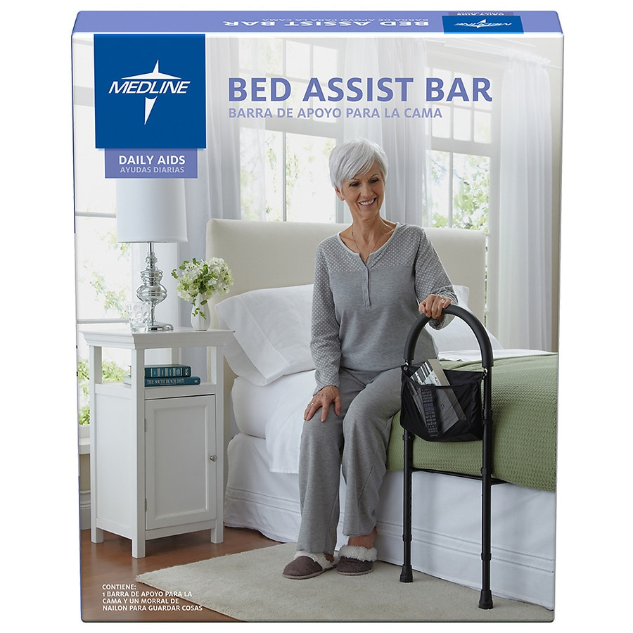 Medline Bed Assist Bar Black | Walgreens