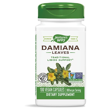 nature's way damiana leaves, capsules | walgreens, Skeleton
