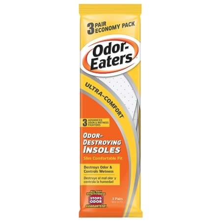 Image of Odor-Eaters Ultra-Comfort Odor-Destroying Insoles - 3 pr