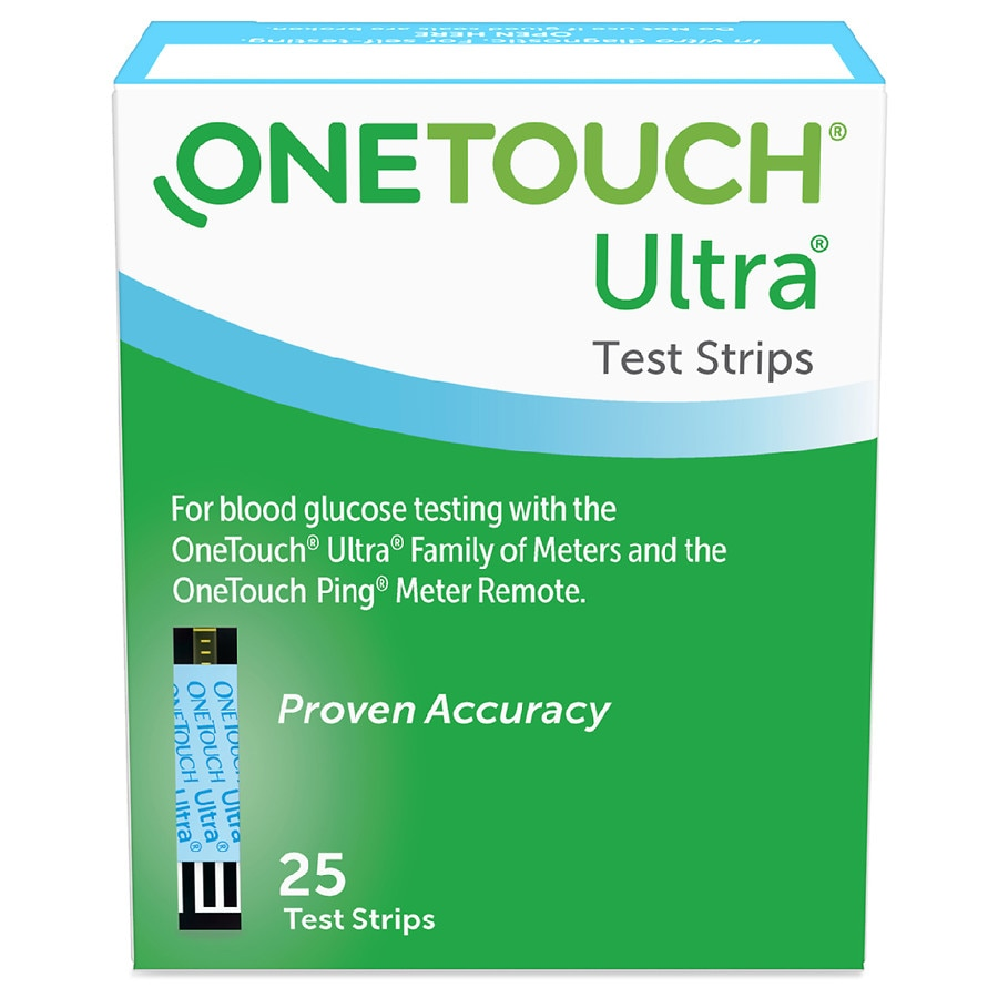 Onetouch Ultra Blue Test Strips Walgreens