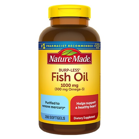 Nature made fish oil 1000 mg dietary supplement liquid for How is fish oil made