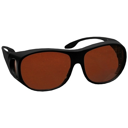 Solar Shield Fits Over Beyond Blue Plastic Sunglasses Size L