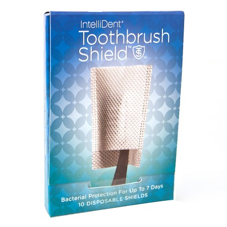 Intellident Antimicrobial Toothbrush Shields