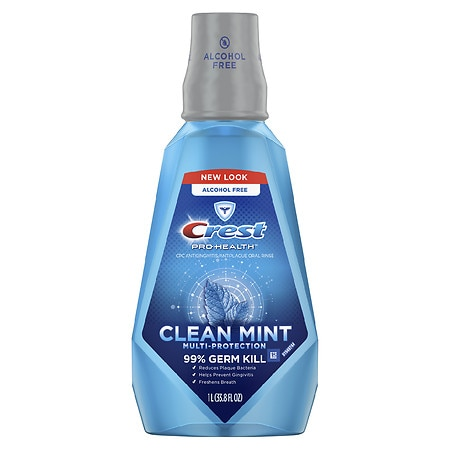 Day 1 with Crest Pro-Health Multi-Protection Mouthwash which starts Crest Pro-health Multi-protection Alcohol Free Rinse l Pack of 2. by Crest. $ $ 28 FREE Shipping on eligible orders. out of 5 stars Product Features Crest Pro-health Multi-protection Alcohol Free Rinse .