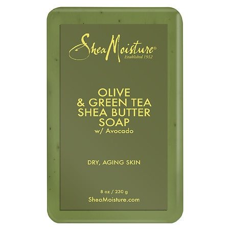 SheaMoisture Olive & Green Tea Shea Butter Soap - 8 oz.