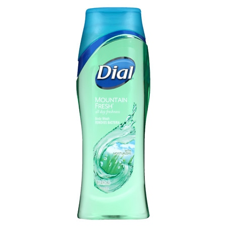 Dial Antibacterial Body Wash With Moisturizers Mountain Fresh