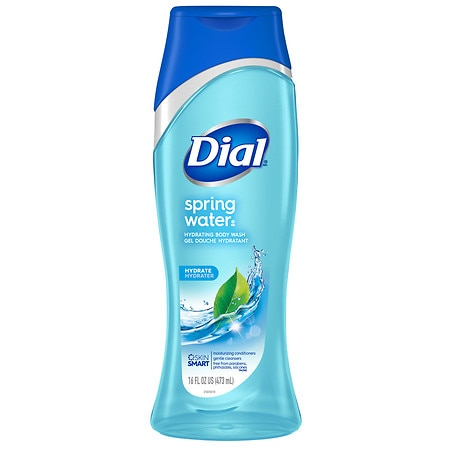 Dial Body Wash With Moisturizers Spring Water