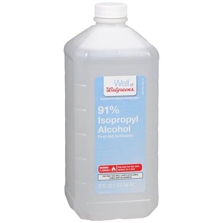 Walgreens Isopropyl Alcohol 91% - 32 fl oz
