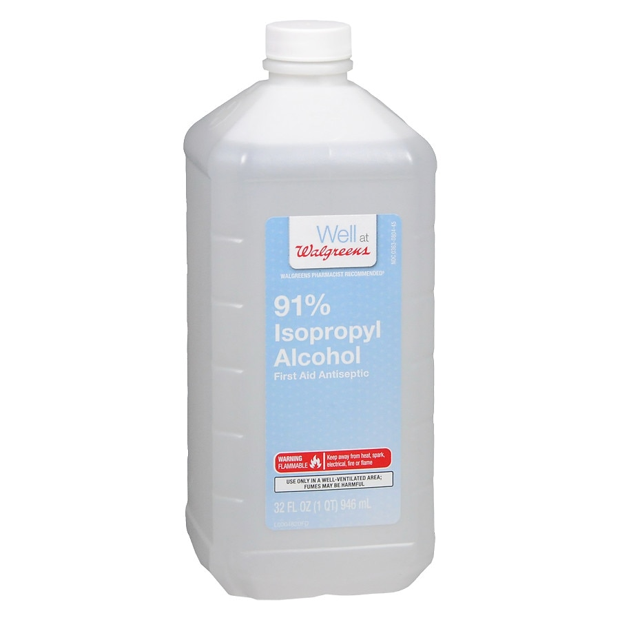 Walgreens Isopropyl Alcohol 91320 Fl Oz