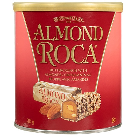 Almond Roca Buttercrunch Toffee with Chocolate and Almonds ...
