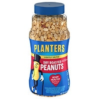 Deals on 2 Planters Dry Roasted Peanuts Lightly Salted16.0oz