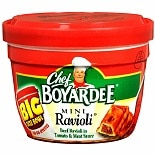 Chef Boyardee Mini Ravioli, Big Bowl