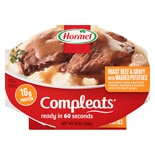 Hormel Compleats Meal Roast Beef & Mashed Potatoes