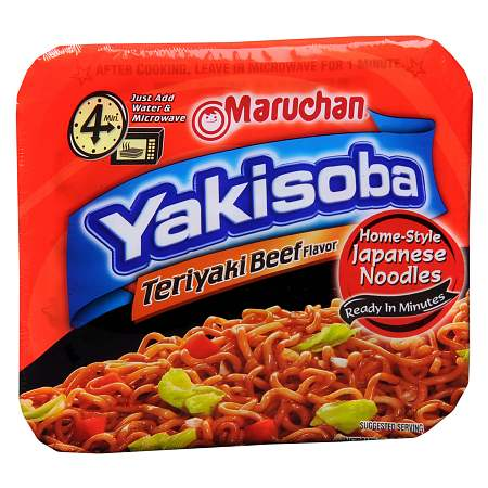 Maruchan Yakisoba Home Style Japanese Noodles