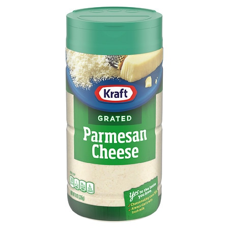Kraft 100 Grated Parmesan Cheese Walgreens