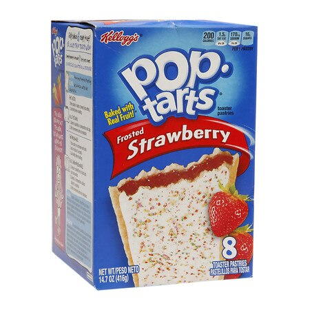 Pop Tarts Toaster Pastries Strawberry, 8 pk