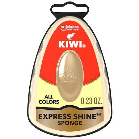Kiwi Express Shine Instant Shoe Shine Sponge - 0.23 fl oz