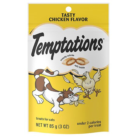 Whiskas Temptations Treats For Cats Chicken - 3 oz.