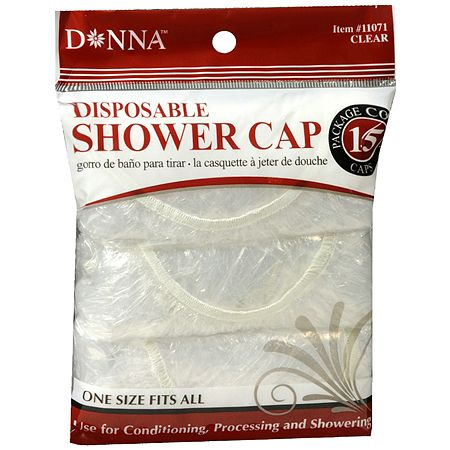 Donna Shower Cap Clear