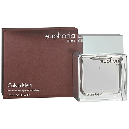 Calvin Klein Euphoria Men EDT Spray - 1.7 oz.