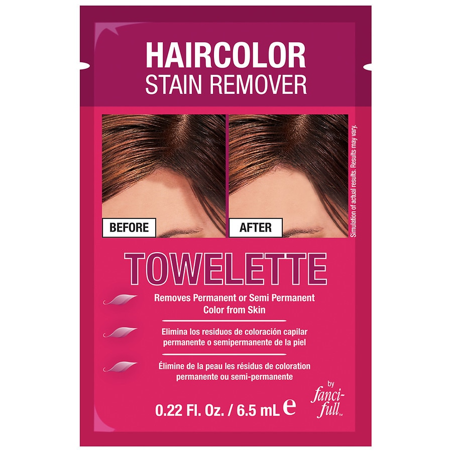 Fanci Full Haircolor Stain Remover Towelette Walgreens