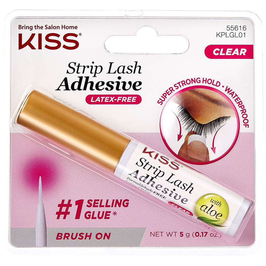 e7fb257ae92 Kiss Ever EZ Lashes Strip Lash Adhesive Clear | Walgreens