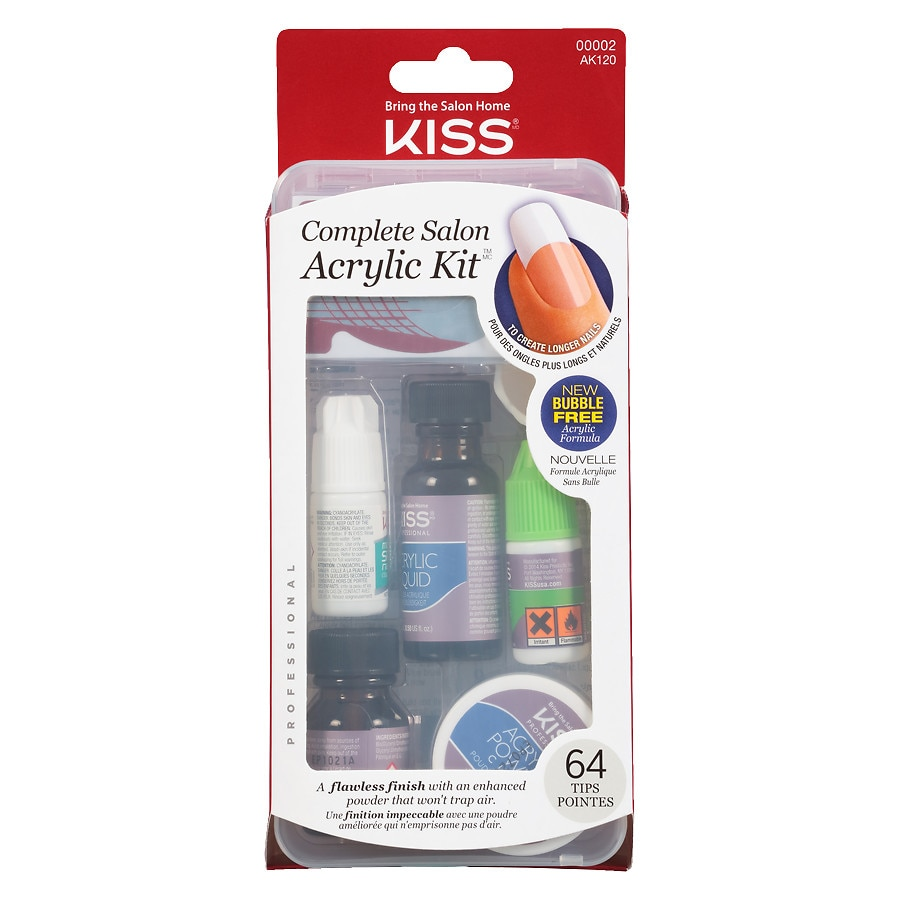 Kiss Complete Salon Acrylic Nail Kit | Walgreens