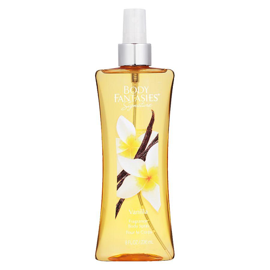 Body Fantasies Signature Fragrance Body Spray Vanilla Walgreens