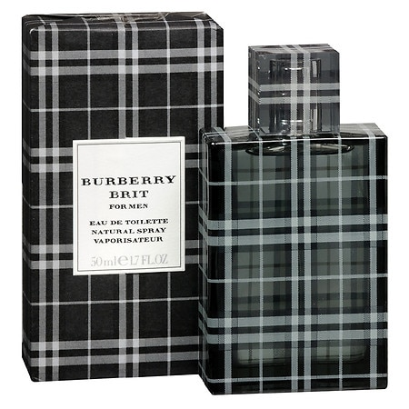 Burberry Brit for Men EDT Natural Spray - 1.7 oz.