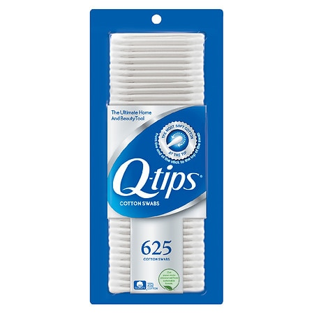 Q-tips Cotton Swabs - 625 ea