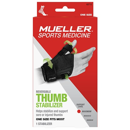 Mueller Thumb Stabilizer, Maximum Support, Model 62712 One Size - 1 ea