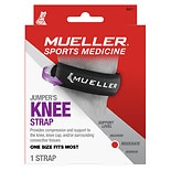 Mueller Jumper's Knee Strap, ModerateSupport, Model 6411 One Size Black
