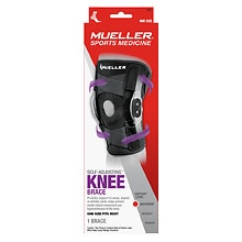6ed760a78b Mueller Adjustable Hinged Knee Brace, Maximum Support, Model 6455 One Size  Black | Walgreens