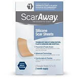 ScarAway ScarAway Silicone Scar Sheets 1.5 inch x 3 inch 1.5x3 inch