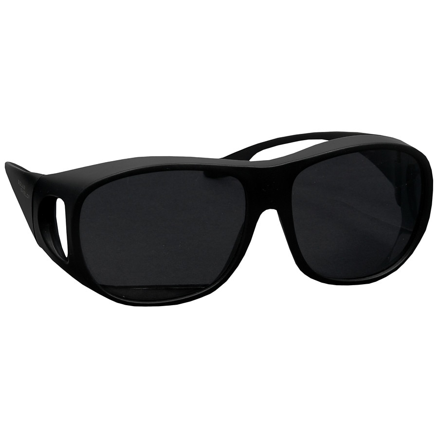 0f8f0de3f8a Solar Shield Fits Over Classic Polarized Plastic Sunglasses Size L1.0 ea