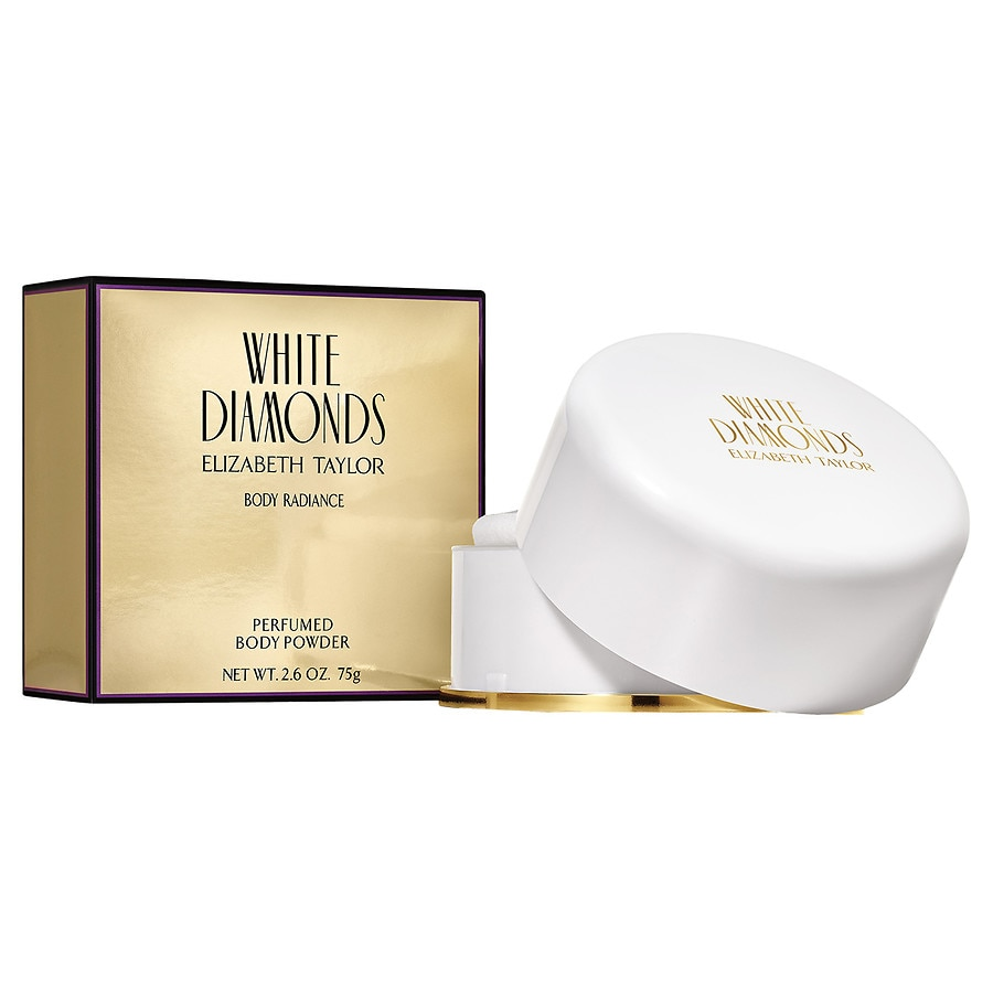 Arden Beauty by Elizabeth Arden White Diamonds Body Radiance Perfumed Body  Powder