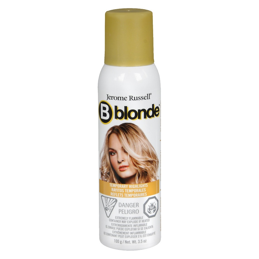 B Wild B Blonde Temporary Highlight Spray Blonde Walgreens