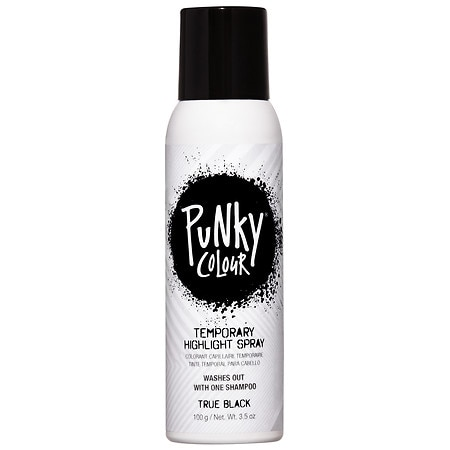 Jerome Russell Temp'ry Natural Color Highlights Spray Black