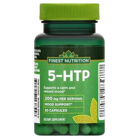 Finest Nutrition 5-HTP 100 mg Dietary Supplement Capsules - 30 ea