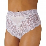 Wearever Reusable Women's Lovely Lace Trim Incontinence Panty White