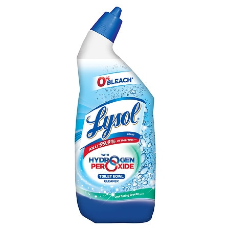 Lysol Power & Free Toilet Bowl Cleaner Cool Spring Breeze - 24 fl oz