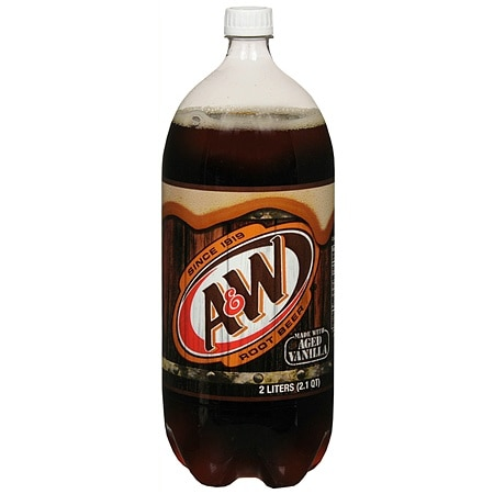 A&W Root Beer Soda - 2 L