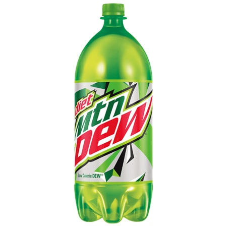 Diet Mountain Dew Soda - 2 L