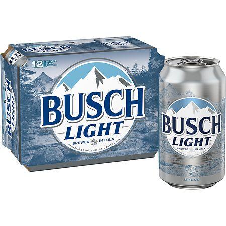 Busch Light Beer - 12 oz. x 12 pack