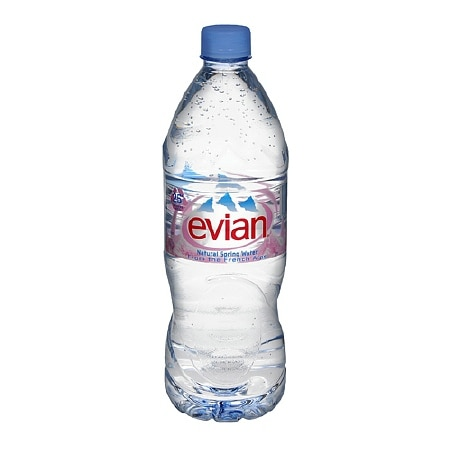 Image of Evian Natural Spring Water - 33.8 oz.