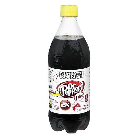 Diet Dr. Pepper Soda - 20 oz.