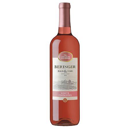 Beringer California White Zinfandel Wine 2010 - 750 ml