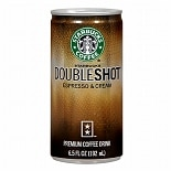 Starbucks Doubleshot Premium Coffee Drink Espresso & Cream