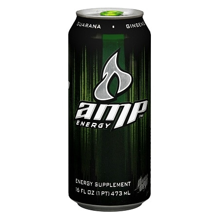 AMP Energy Energy Supplement Drink - 16 oz.